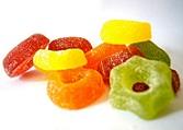 Продукты, вредные для зубов - конфеты.