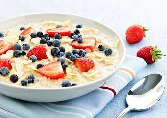 Полезный завтрак - овсянка