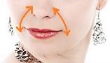 Вакуумный массаж носогубных складок - массажные линии.