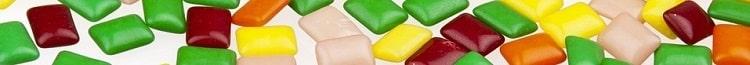 Вредные продукты с пищевыми добавками - жевательные резинки