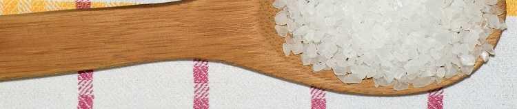 Солевой раствор - ингредиенты - соль