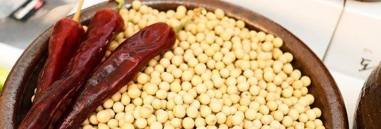 Фитоэстрогены в продуктах - соя (соевые бобы)