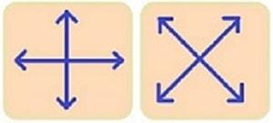 Мезороллер - направления движений при массаже